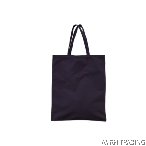 CODE: LK90  (Canvas LK size Black Tote Bag)