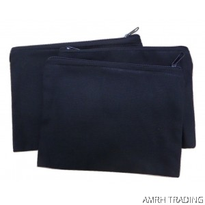 CODE: CT80 (Black Cotton Pencil Case)