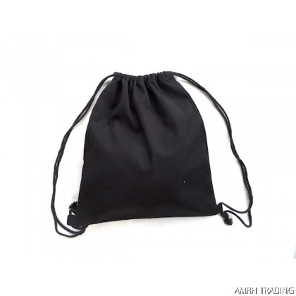 CODE: DS90    (Black Drawstring Bag)