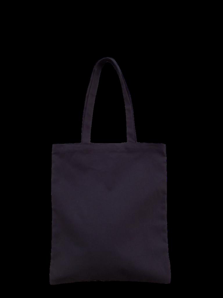 8681c3f07d CODE  001CN (Canvas a3 size Black Tote Bag)